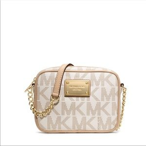 Michael Kors small jet set crossbody bag (small)